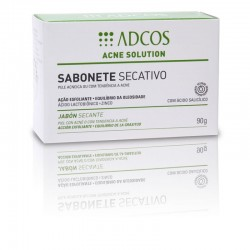 Adcos Acne Soluction Sabonete Secativo