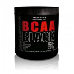 BCAA Black - 200g - Açaí com Guaraná - Probiótica