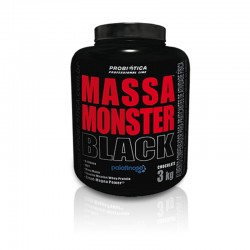 Massa Monster Black 3 kg Professional Line - Chocolate - Probiótica