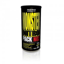 Monster Nitro Pack NO2 - 44 Packs - Professional Line Probiótica