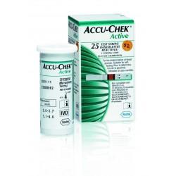 Accu Chek Active c/ 25 tiras reagentes
