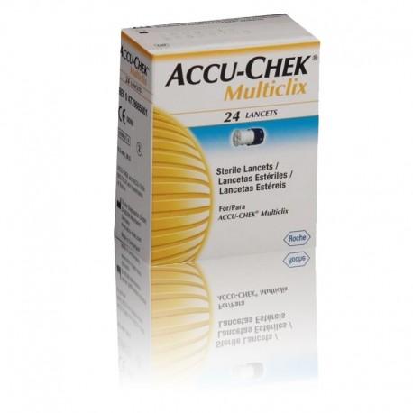 Accu Chek Multiclix c/ 24 lancetas