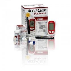 Medidor de glicose Accu Chek Performa Kit