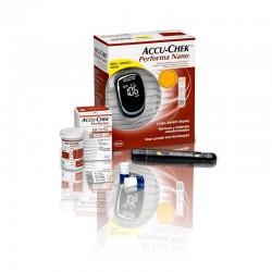 Medidor de glicose Accu Chek Performa Nano Kit