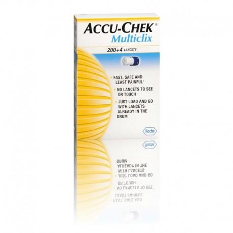 Accu Chek Multiclix c/ 204 lancetas