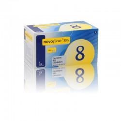 Agulha Novofine 8mm caixa c/ 100 unid.