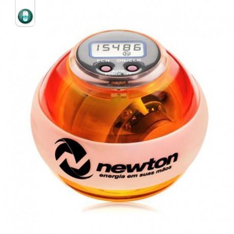 newton ball digital led laranja