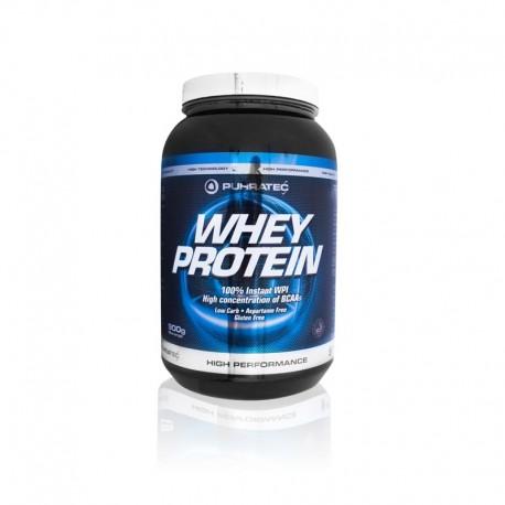 Whey Protein Isolado Morango 900g Puhratec