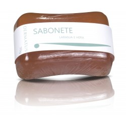 Sabonete Barra c/ Laranja e Hera  Dermatus