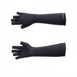 Luva Longa Antiderrapante UV Tam G (Bege) - Sun Cover