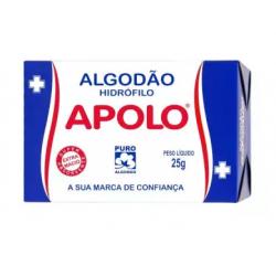 Algodão Apollo Hidrofilo 25g