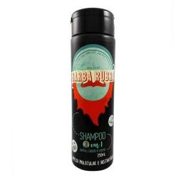 Barba Rubra Shampoo 3 em 1 250ml