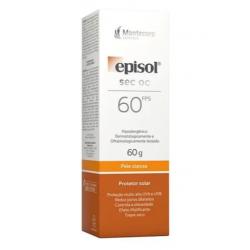 Protetor Solar Facial Episol Sec OC Pele Oleosa FPS60 60G
