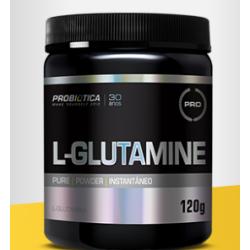 L-Glutamine sem sabor 120g - Probiótica