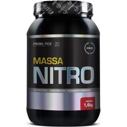 Massa Nitro NO2 1,4 Kg Morango - Probiótica