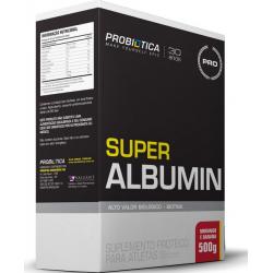 Super Albumin Millennium 500 gr - Morango com banana - Probiótica