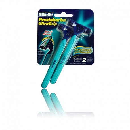 Gillette Prestobarba Ultragrip Cabeça Móvel c/2